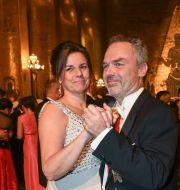 Jan Björklund, här tillsammans med Isabella Lövin på Nobelfesten 2017. Fredrik Sandberg/TT / TT NYHETSBYRÅN