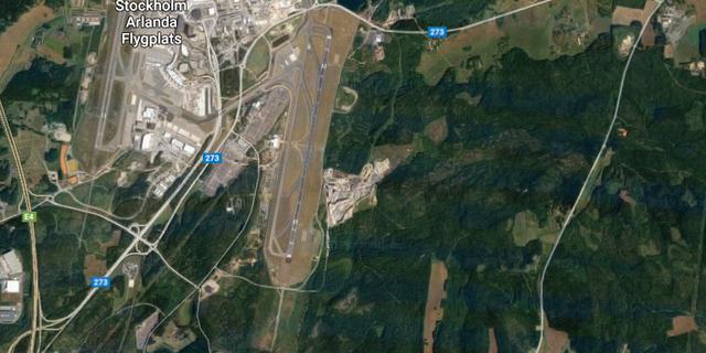 Karta över området. Google