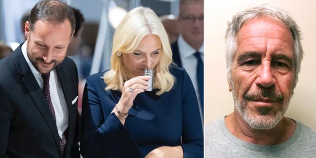 Mette-Marit, Epstein.  TT