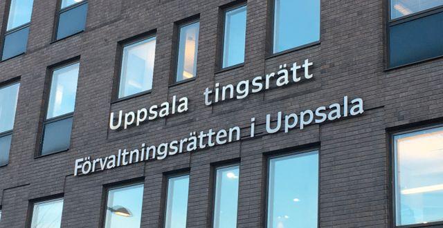 Uppsala tingsrätt. Arkivbild. Akvelina Smed /TT / TT NYHETSBYRÅN