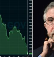 Amerikanska tioåriga räntan de sex senaste månaderna. Paul Krugman (Arkivbild) Infront / TT