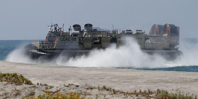 Amerikansk militärövning, arkivbild.  TT
