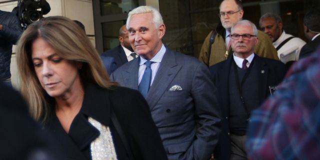 Roger Stone ALEX WONG / GETTY IMAGES NORTH AMERICA