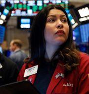 Illustrationsbild: Börshandlare på Wall Street. Richard Drew / TT NYHETSBYRÅN