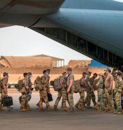 Franska soldater som deltagit i Barkhane.  TT NYHETSBYRÅN