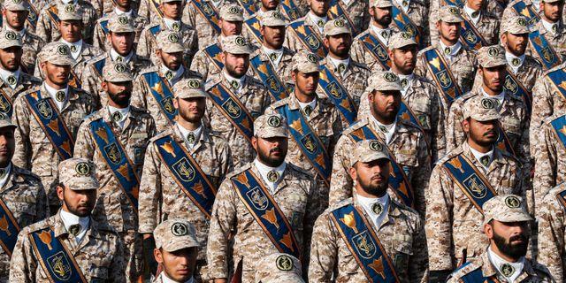 Medlemmar ur Irans revolutionsgarde. - / Iranian Presidency