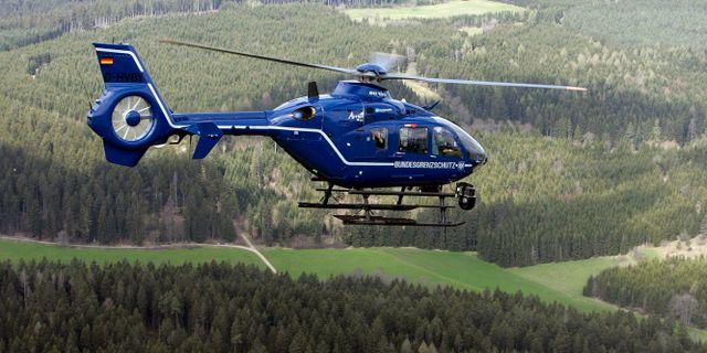 Helikopter över Schwarzwald. Arkivbild. WINFRIED ROTHERMEL / TT NYHETSBYRÅN