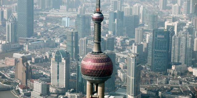 Shanghai. Eugene Hoshiko / TT / NTB Scanpix