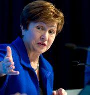 Arkivbild: IMF-chefen Kristalina Georgieva.  Jose Luis Magana / TT NYHETSBYRÅN