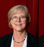 Ingrid Carlberg och Steve Sem-Sandberg. Anders Wiklund/TT / TT NYHETSBYRÅN