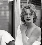 """Luchino Visconti och Björn Andrésen under inspelningen av """"Döden i Venedig"""". Triart"""