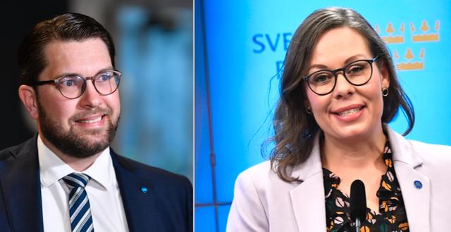 Jimmie Åkesson/Maria Malmer Stenergard  TT