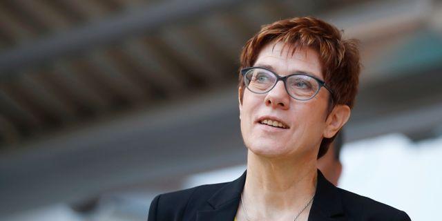 Annegret Kramp-Karrenbauer, partiledare för CDU. AXEL SCHMIDT / TT NYHETSBYRÅN
