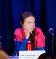 Greta Thunberg. KENA BETANCUR / AFP