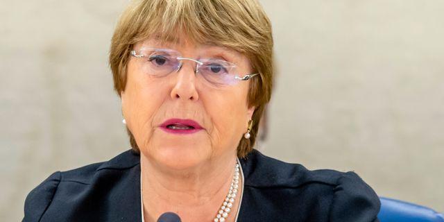Michelle Bachelet. Arkivbild. MAGALI GIRARDIN / TT NYHETSBYRÅN/ NTB Scanpix