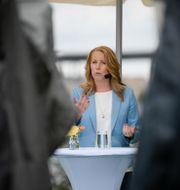 Annie Lööf. Janerik Henriksson/TT / TT NYHETSBYRÅN