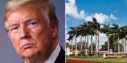 Trumps golfanläggning i Florida. TT