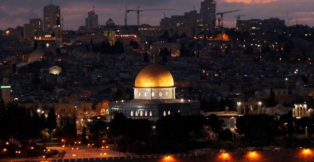 Jerusalem  RONEN ZVULUN / TT NYHETSBYRÅN
