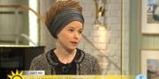 Kulturminister Amanda Lind (MP). TV4 Nyhetsmorgon