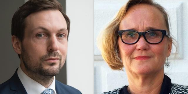 Advokaterna Viktor Banke och Ingela E Hessius. Arkivbild. TT, pressbild