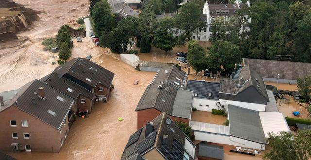 Erftstadt, sydväst om Köln i Tysklamd Rhein-Erft-Kreis / TT NYHETSBYRÅN