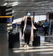 Resenär på Heathrow, arkivbild. Kirsty Wigglesworth / TT NYHETSBYRÅN