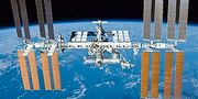 Rymdstationen ISS.  Nasa/Wikipedia