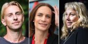 Anders Hansen, Caroline Farberger och Stina Wollter