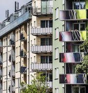 Bostäder i Norra Djurgårdsstaden i Stockholm. Arkivbild. TT