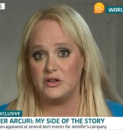 Jennifer Arcuri. ITV