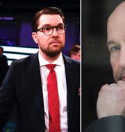 Partiledardebatten i SVT/Gellert Tamas TT