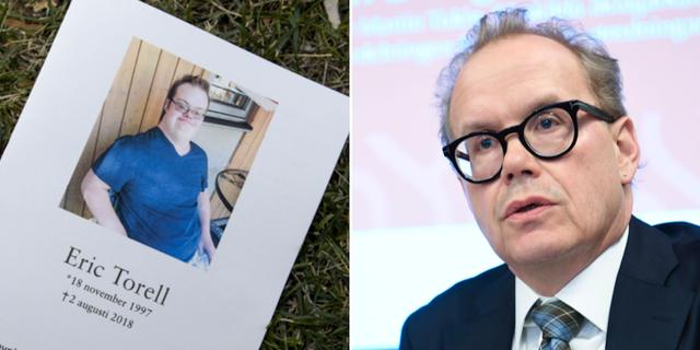 Eric Torell / Åklagaren Martin Tidén. TT