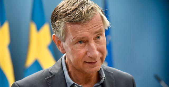 Sveriges vaccinsamordnare Richard Bergström.  Fredrik Sandberg/TT / TT NYHETSBYRÅN