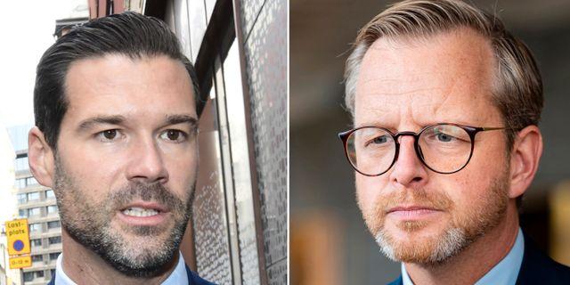 Johan Forssell/Mikael Damberg TT