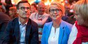 Ulf Kristersson och Elisabeth Svantesson. Arkivbild. Thomas Johansson/TT / TT NYHETSBYRÅN