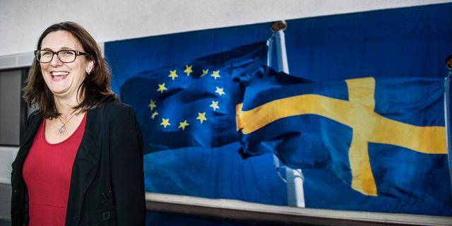 Cecilia Malmström. Arkivbild. Tomas Oneborg / SvD / TT / TT NYHETSBYRÅN