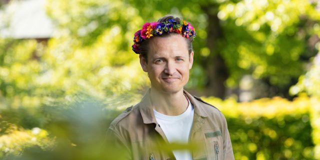 Niklas Adalberth.  Mattias Ahlm / Sveriges Radio
