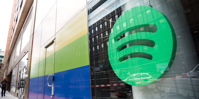 Illustrationsbild, Spotify. Henrik Montgomery/TT / TT NYHETSBYRÅN
