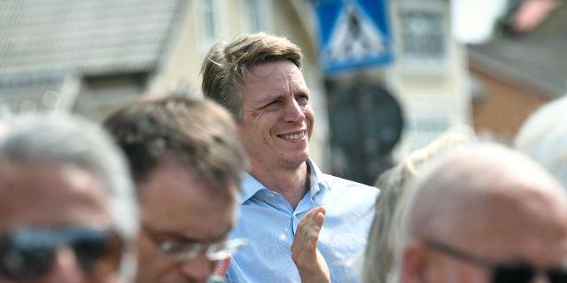 Per Bolund. Johan Nilsson/TT / TT NYHETSBYRÅN