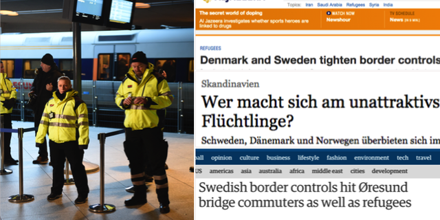 Sa skriver internationella medier om flyktingsituationen i sverige