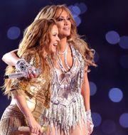 Shakira och Jennifer Lopez. Maddie Meyer / GETTY IMAGES NORTH AMERICA
