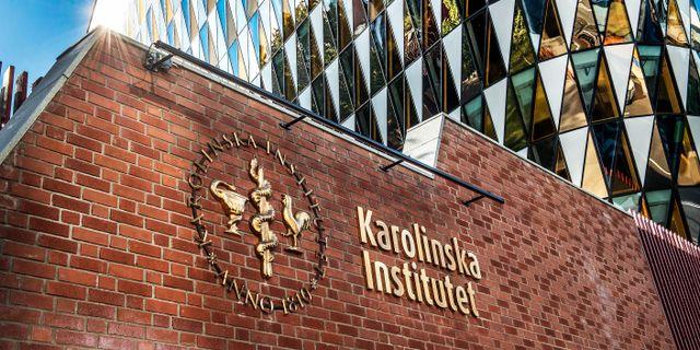 Karolinska Institutet Tomas Oneborg/SvD/TT / TT NYHETSBYRÅN