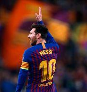 Messi.  Manu Fernandez / TT NYHETSBYRÅN