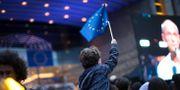 Bild tagen utanför EU-parlamentet i Bryssel på söndagen. Francisco Seco / TT NYHETSBYRÅN