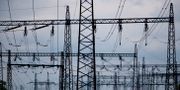 Elledningar vid kärnkraftverken på Simpevarpshalvön utanför Oskarshamn. Adam Ihse/TT / TT NYHETSBYRÅN