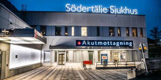 Södertälje sjukhus.  Tomas Oneborg/SvD/TT / TT NYHETSBYRÅN