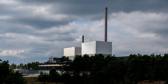 Kärnkraftverken O1:an och O2:an på Simpevarpshalvön utanför Oskarshamn. Arkivbild. Adam Ihse/TT / TT NYHETSBYRÅN