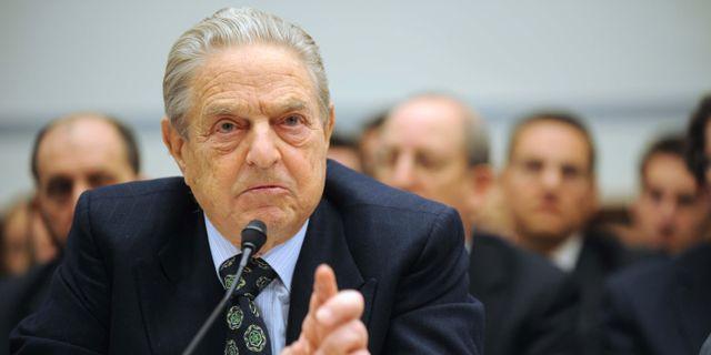 George Soros, grundare välgörenhetsstiftelse Open Society Foundation. Kevin Wolf / TT NYHETSBYRÅN/ NTB Scanpix