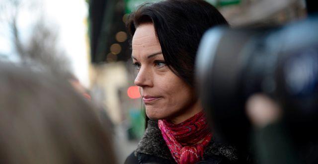 S-politikern Veronica Palm.  Vilhelm Stokstad / TT / TT NYHETSBYRÅN