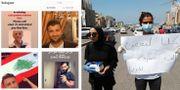 Bilder på saknade publicerade på Instagram/Två kvinnor samlar in donationer till personer som förlorat sina hem  Instagram/TT